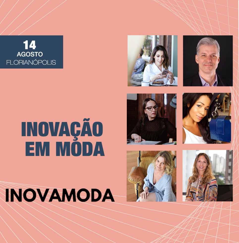 Palestrantes do evento InovaModa